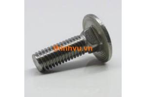 Bulong đầu tròn cổ vuông Inox SUS 201 - 304